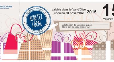 Des « Chèques cadeaux » Val d'Oise ! pour acheter local