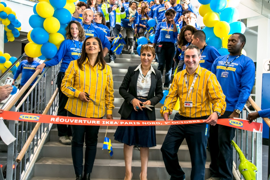 Ikea paris nord change d apparence contact entreprises for Ikea parati