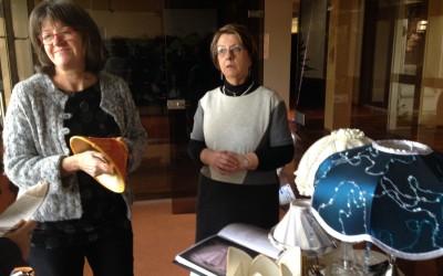 Sylvie Lanciani reprend l'atelier d'abat-jour CVB