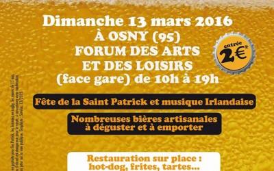 Rotary de Cergy : tous au salon de la bière artisanale et de la pomme