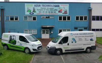 Azur Technologies : 20 ans et une nouvelle agence à Saint-Ouen l'Aumône