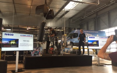 Iveco : inauguration sur le ring