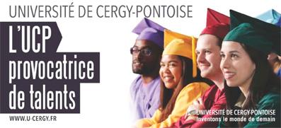 """Nouvelle campagne institutionnelle :  """"L'UCP, provocatrice de talents"""""""