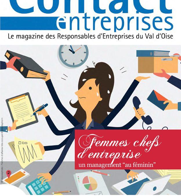 Contact Entreprises consacré au management féminin