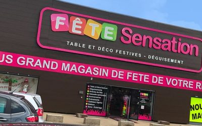 Fête Sensation ouvre son plus grand magasin de fête à Herblay