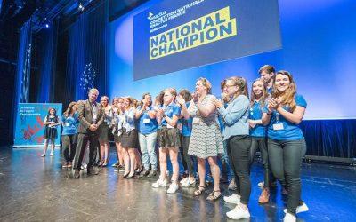 l'EBI remporte la compétition Enactus France