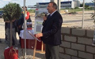 Sitour : les travaux du futur siège social sont lancés