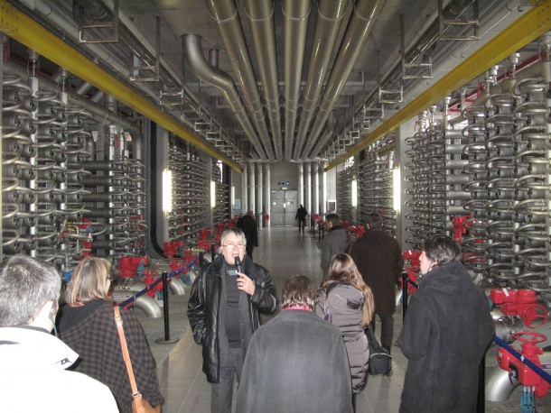 Journée du patrimoine : l'usine de production d'eau potable de Méry ouvre ses portes