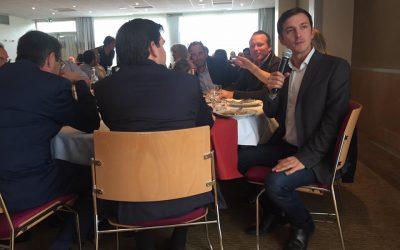 Le député Aurélien Taché à la rencontre des chefs d'entreprise