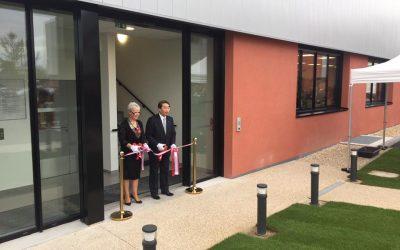 Hyphen Biomed inaugure une nouvelle extension à Neuville
