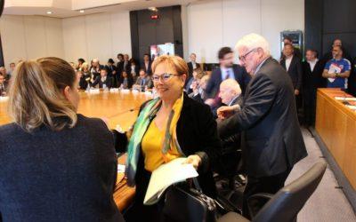 Marie-Christine Cavecchi : une femme a la tête du département