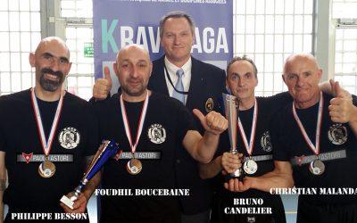Championnat du monde de Krav Maga : les entreprises soutiennent l'équipe du Plessis Bouchard