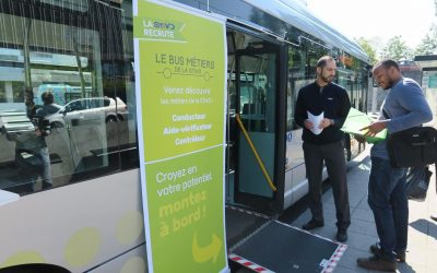 Chauffeurs de bus et contrôleurs : la Stivo recrute !