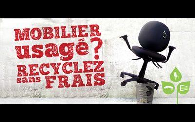 Collecte de mobilier professionnel gratuite du 1er au 15 décembre
