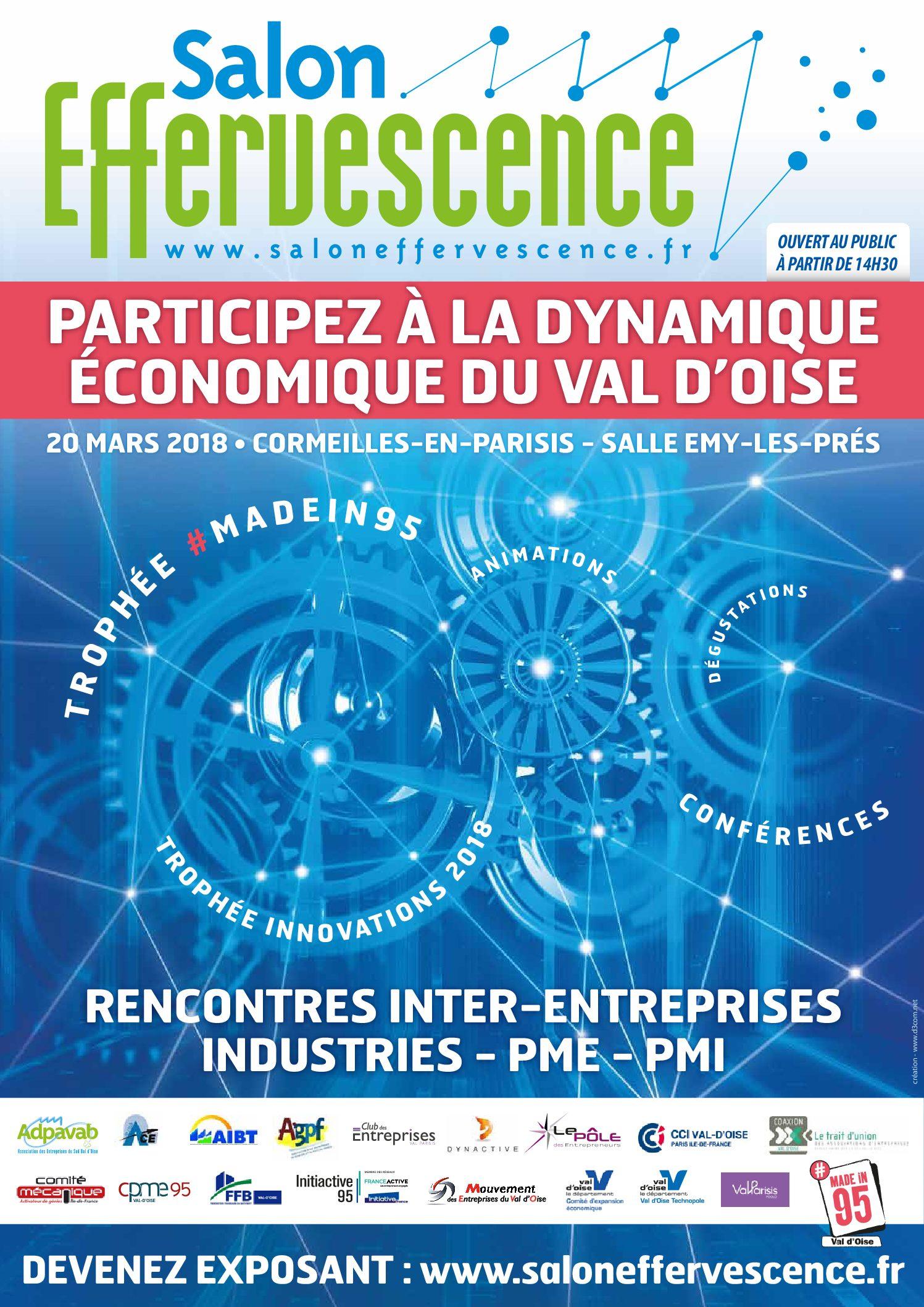 Venez concourir pour les prix de l'innovation Effervescence ou décrocher le prix du #Madein95 !