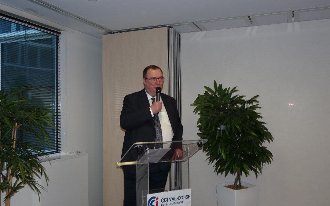 Pierre Kuchly devient le nouveau président de la CCI 95