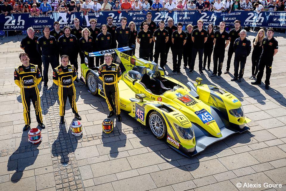 24 Heures du Mans IBANEZ RACING remporte « la palme de la meilleure équipe débutante »