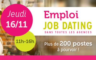 APEF services Cergy-Pontoise organise la première édition de son job dating