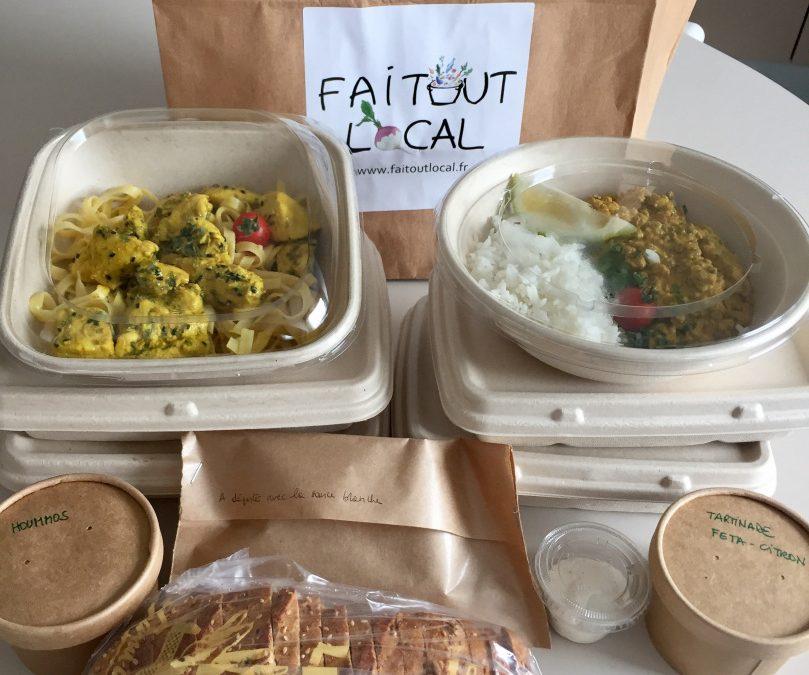 Faitoutlocal : manger bon et gourmand en un clic