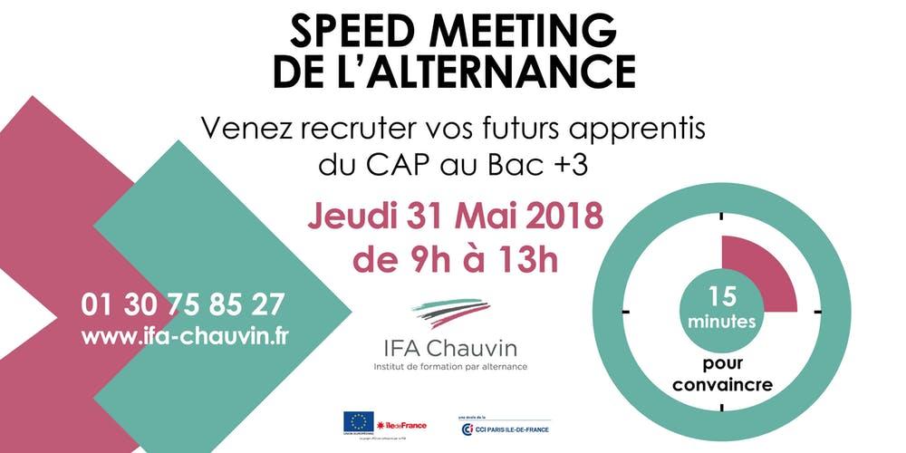 Speed-meeting de l'alternance : l'IFA Chauvin donne RDV aux entreprises
