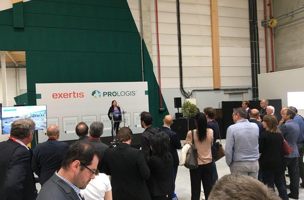 Exertis inaugure sa nouvelle plateforme logistique à Marly la ville