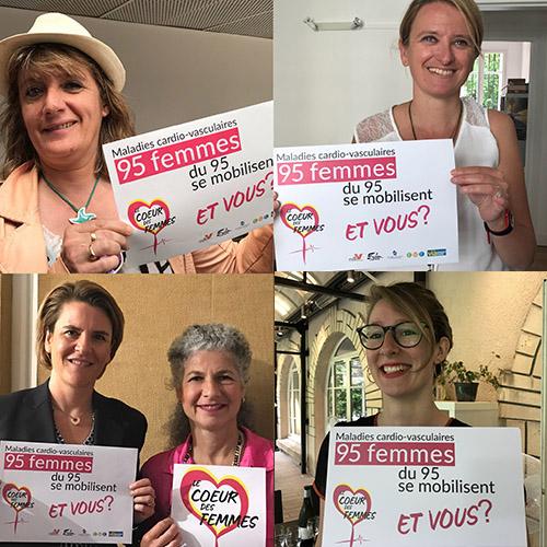 95 femmes duVal d'Oisese mobilisent pour «le coeur des femmes»