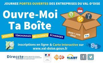 Ouvre-Moi Ta Boîte, une journée Portes Ouvertes des Entreprises du Val d'Oise