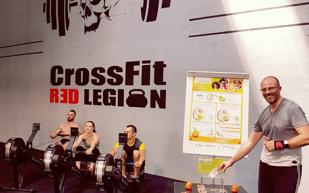 Challenge Quatre saisons au CrossFit RED LEGION