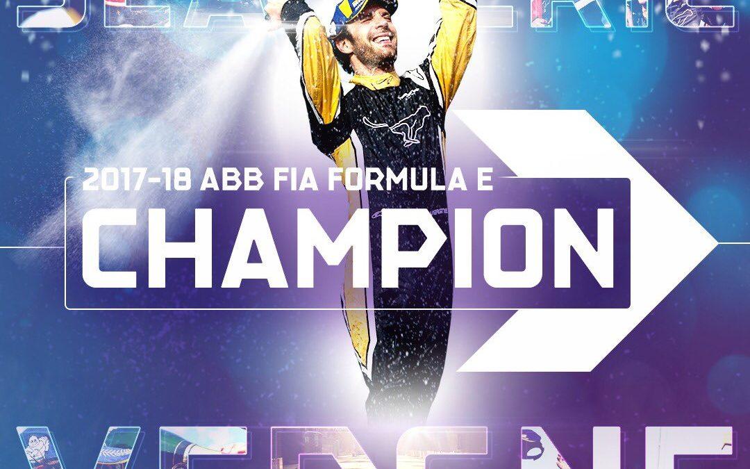 Jean-Eric Vergne, le pontoisien s'impose en Formule E