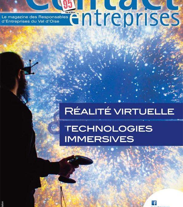 Contact Entreprises : immersion dans le monde de la réalité virtuelle