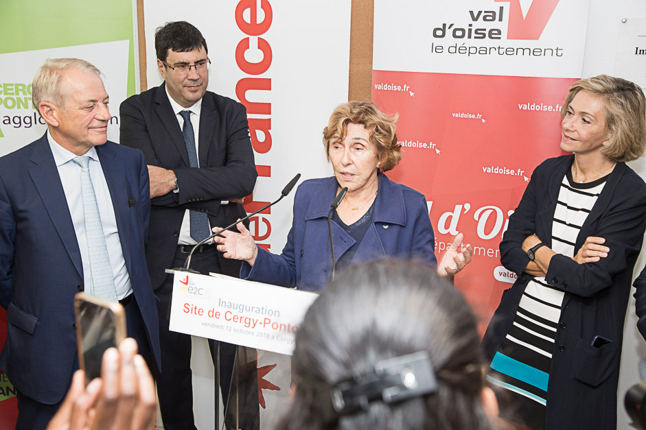 De nouveaux locaux pour l'École de la 2e chance à Cergy-Pontoise