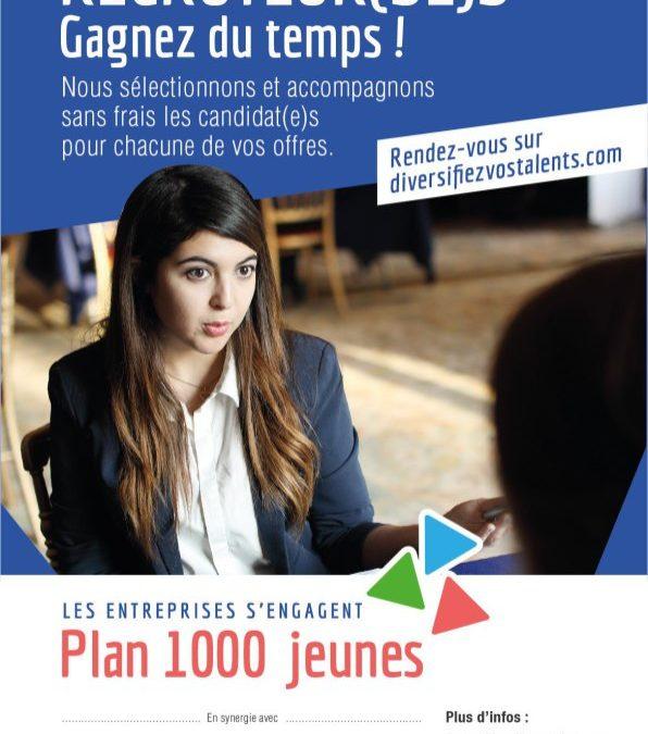 Le «Plan 1000 jeunes» soutenu par le Club ACE et la CPME 95