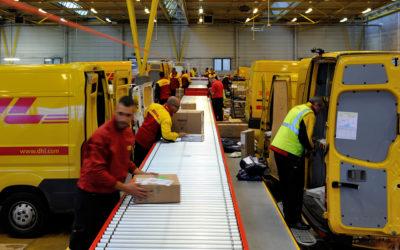 DHL : nouvel investissement à Roissy