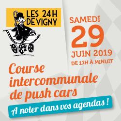Inédit à Vigny : course de push cars le 29 juin !