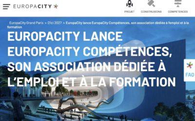 EuropaCity Compétences s'engage pour le recrutement local