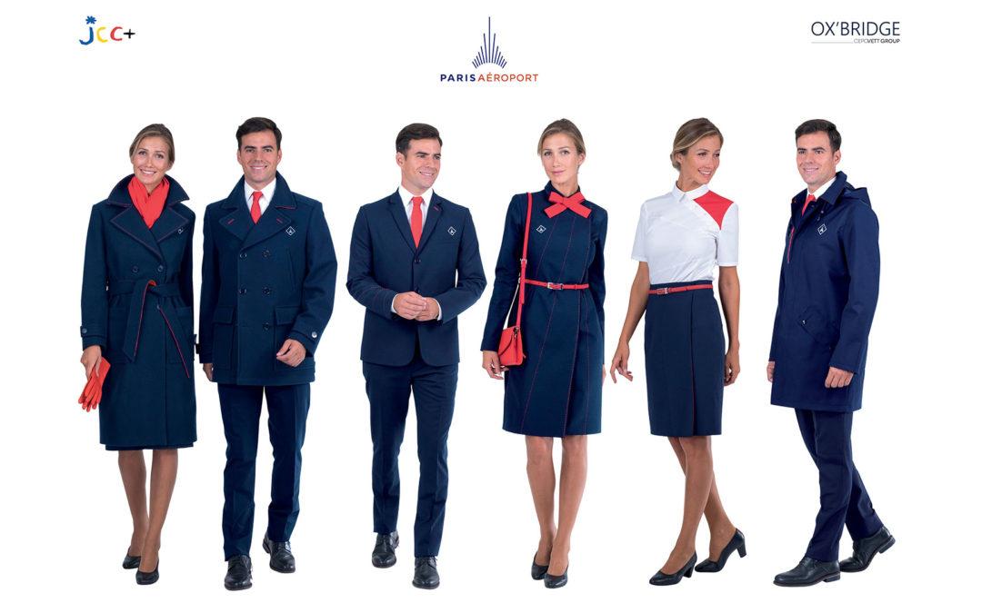 Paris Aéroport revisite ses uniformes avec JC Castelbajac