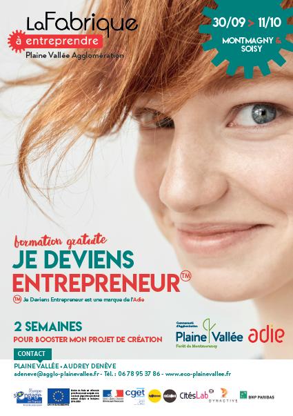 Plaine Vallée : Une formation gratuite pour devenir entrepreneur