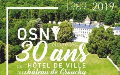L'hôtel de ville d'Osny fête ses 30 ans à Grouchy