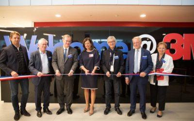 3M a inauguré son nouveau siège social à Cergy