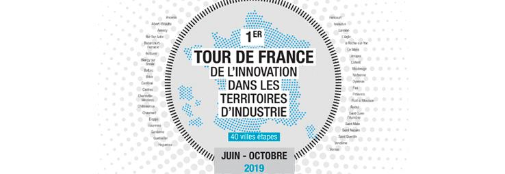 Le 1er Tour de France de l'Innovation dans les Territoires d'Industrie fait étape au Parc de Saint-Ouen l'Aumône