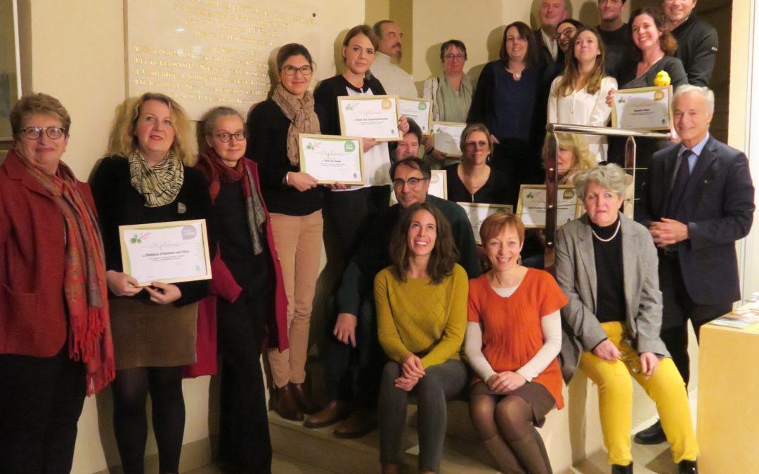 Les « Eco-défis » récompensent les entreprises du Parc naturel régional du Vexin français