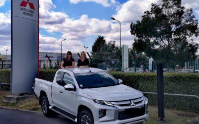 Mitsubishi soutient la team «2 Gaz'ailles»