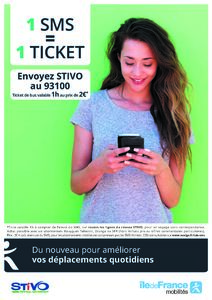 Le réseau STIVO adopte le Ticket SMS