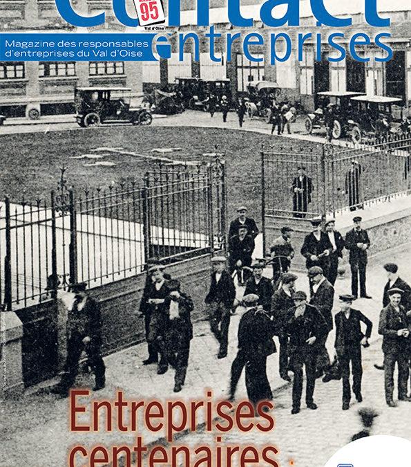 Contact Entreprises met à l'honneur les entreprises centenaires