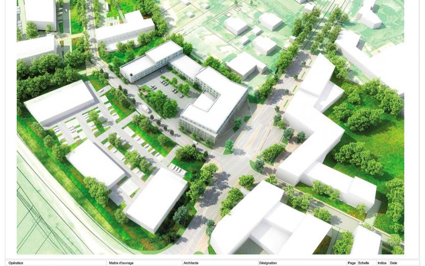 L'aménagement de la ZAC Sud à Roissy validé