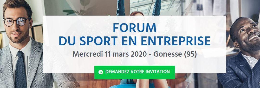 Forum du sport en entreprise : Manutan et Casal Sport font équipe le 11 mars 2020 à Gonesse