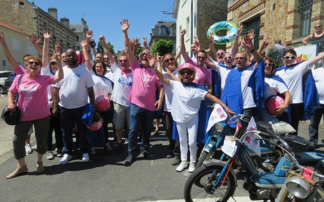 Les Meules Bleues prennent le départ à St Ouen l'Aumône