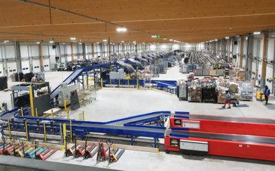Le hub Mondial Relay de Cergy investit dans une machine double tri à 3 millions d'euros