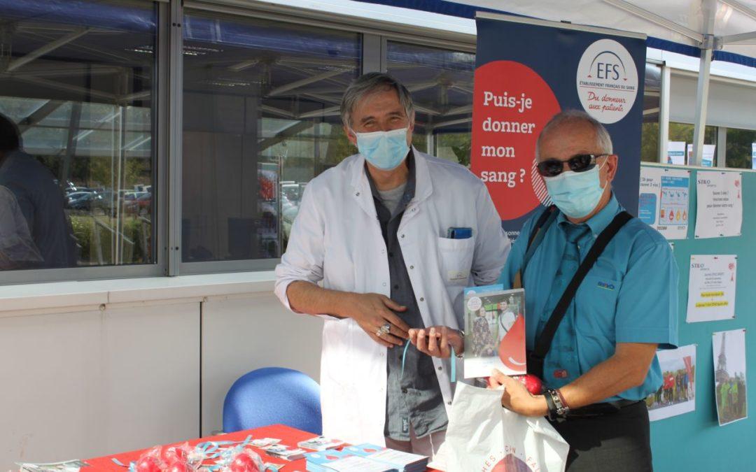 La STIVO mobilisée pour le don du sang