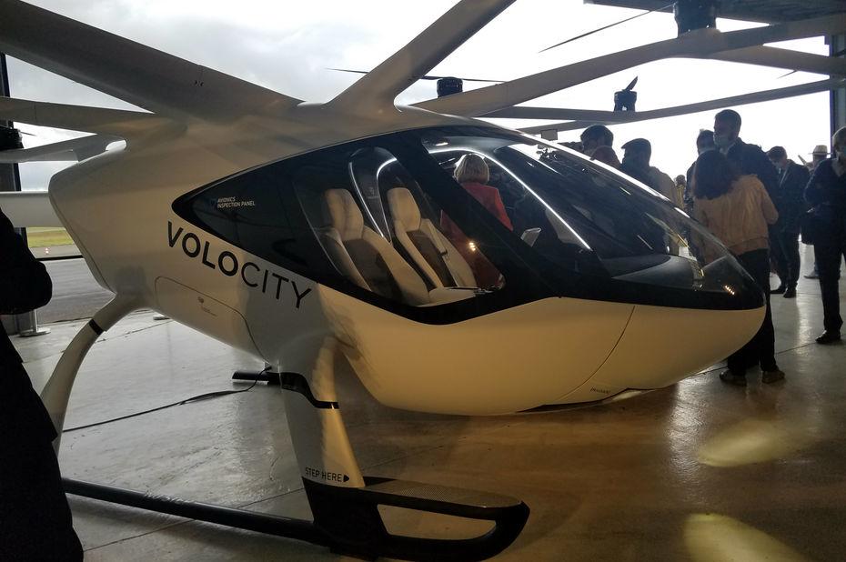 Cormeilles-en-Vexin, zone de test de la nouvelle filière Mobilité Aérienne Urbaine